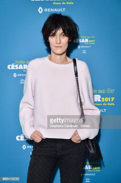 Clotilde Hesme attends 'Les Nuits en Or 2017' Dinner Gala at Unesco on June 12 2017 in Paris France