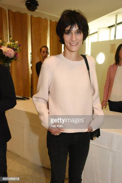 Clotilde Hesme attends 'Les Nuits en Or 2017' Dinner Gala Photocall at UNESCO on June 12 2017 in Paris France
