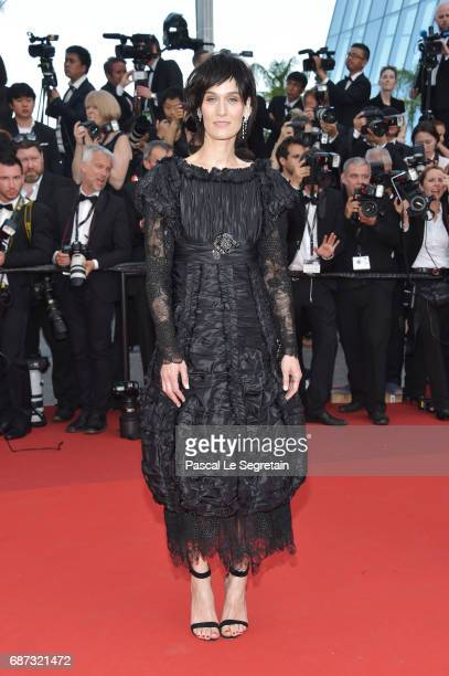 Clotilde Hesme attends the 70th Anniversary of the 70th annual Cannes Film Festival at Palais des Festivals on May 23 2017 in Cannes France