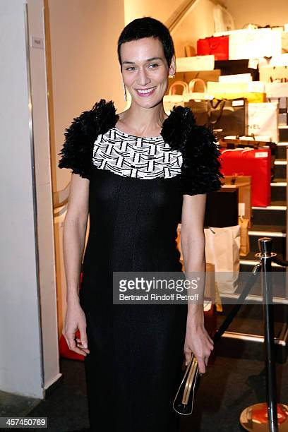 Clotilde Hesme attends the Annual Charity Dinner hosted by the AEM Association Children of the World for Rwanda on December 17 2013 Held at Espace...