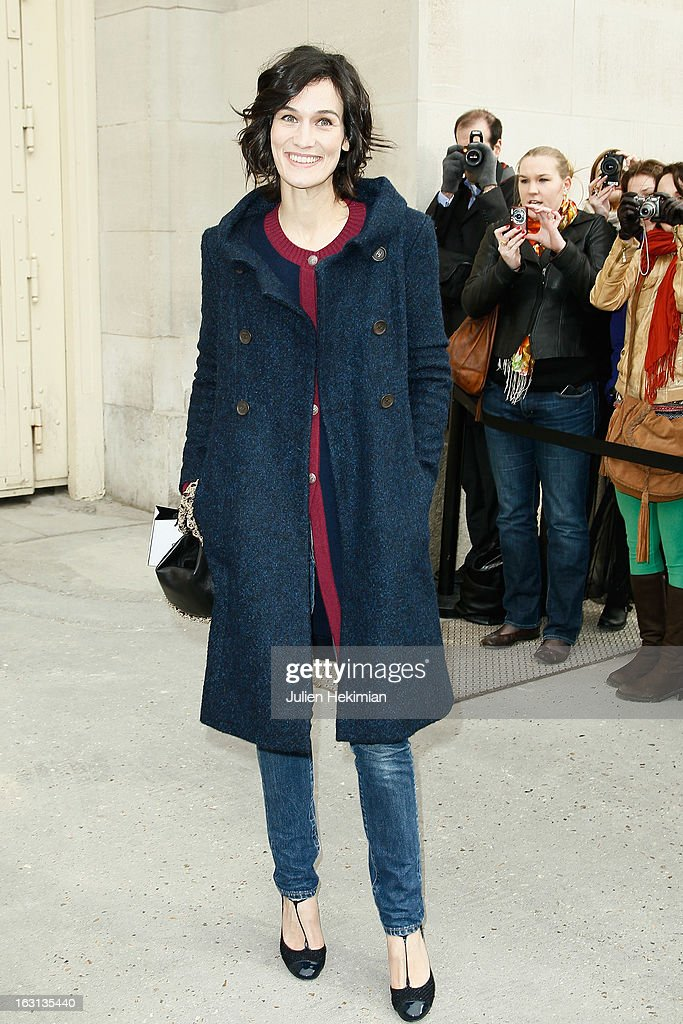 Clotilde Hesme attends the Chanel Fall/Winter 2013 Ready-to-Wear show as part of Paris Fashion Week at Grand Palais on March 5, 2013 in Paris, France.