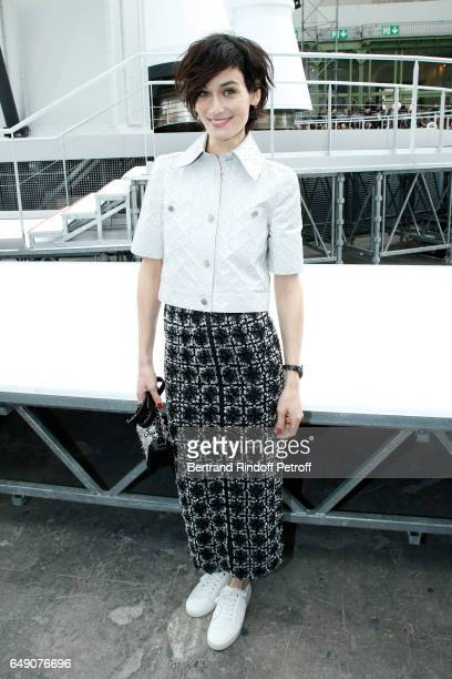 Clotilde Hesme attends the Chanel show as part of the Paris Fashion Week Womenswear Fall/Winter 2017/2018 on March 7 2017 in Paris France