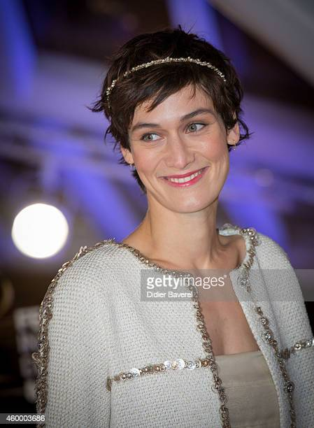 Clotilde Hesme attends the jury photocall red carpet during the opening ceremony of the 14th Marrakech International Film Festival on December 5 2014...