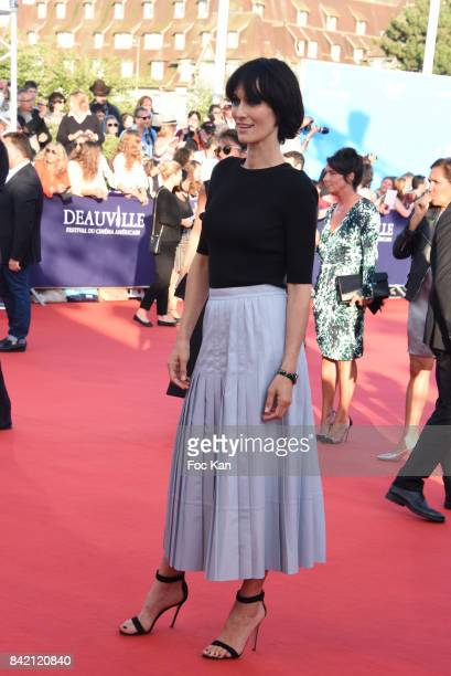 Clotilde Hesme attends the screening of 'Good Time' Premiere during the 43rd Deauville American Film Festival on September 2 2017 in Deauville France