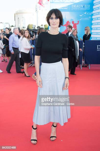 Clotilde Hesme attends the Tribute to Robert Pattinson and 'Good Time' Premiere during the 43rd Deauville American Film Festival on September 2 2017...