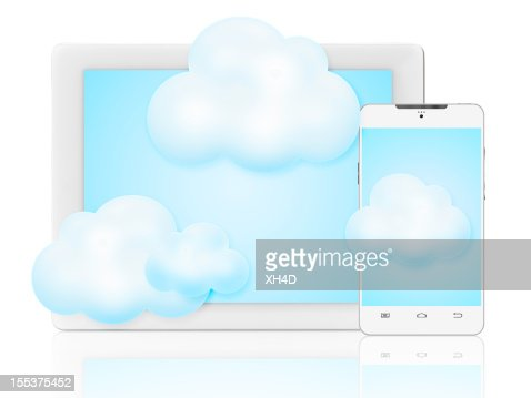 cloud computing-Konzept : Stock-Foto