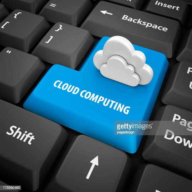cloud computing Eingabetaste