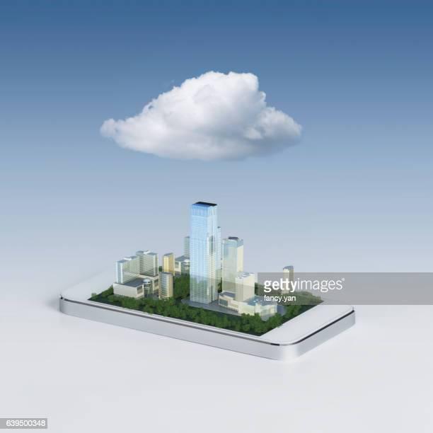 cloud computing helps to build smart city
