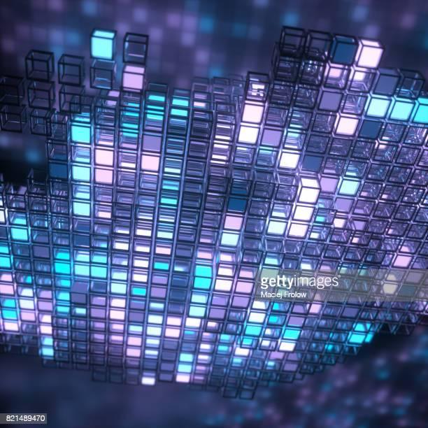 Cloud computing illustration