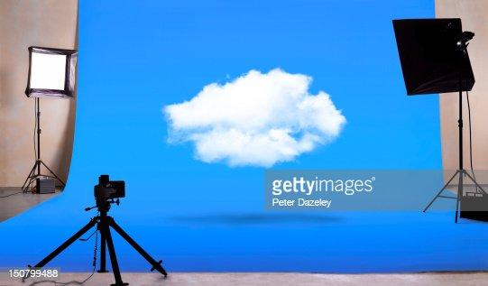 Cloud computing in photography studio