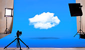Cloud computing in photography studio
