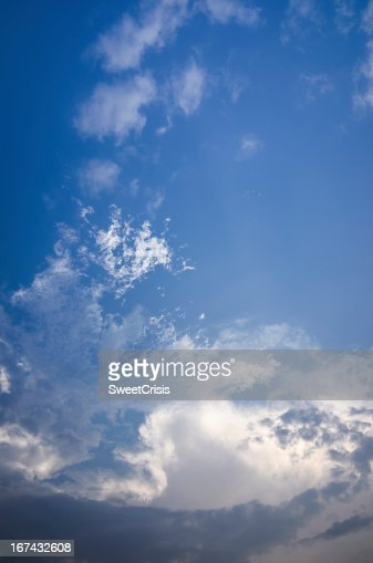 Cloud light sky : Stock Photo