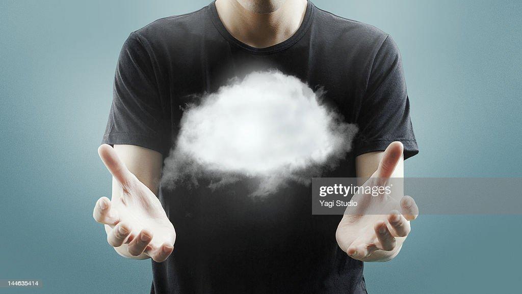 Cloud network : Stock Photo
