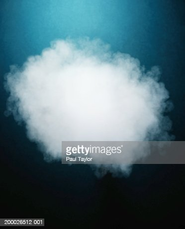 Cloud of steam : Stock Photo
