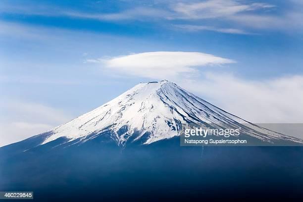 Cloud over Mt. Fuji