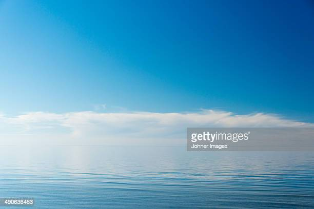 Cloud reflecting in sea, Gotland, Sweden