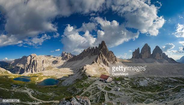 Cloud sky at Tre Cime,  Dolomite Alps, Italy