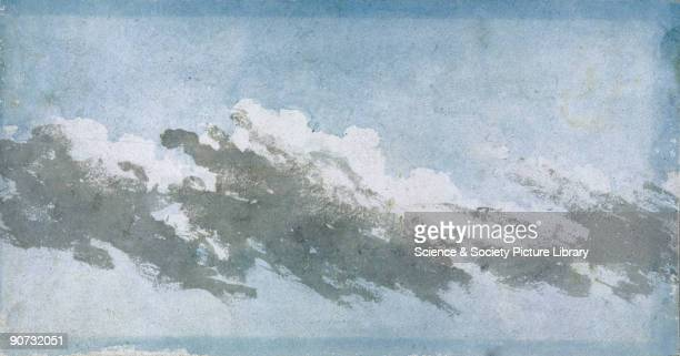 A cloud study by Luke Howard Howard was a London chemist and a pioneer in meteorology who in 1820 published the 'Climate of London' containing the...