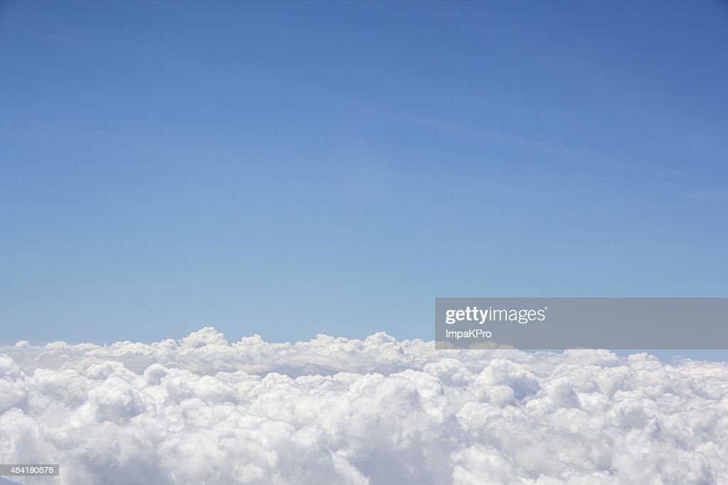 cloud under blue sky : Stock Photo