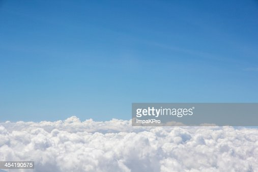 cloud sotto il cielo : Foto stock