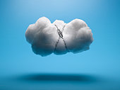 Cloud with Chain and Lock