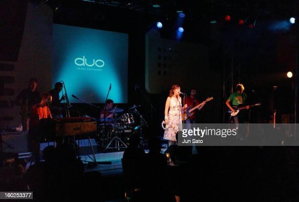 Cloudberry Jam during Cloudberry Jam in Concert June 15 2004 at Duo Music Exchange in Tokyo Japan