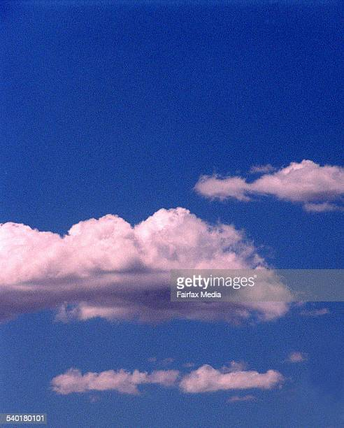 Clouds and a blue sky