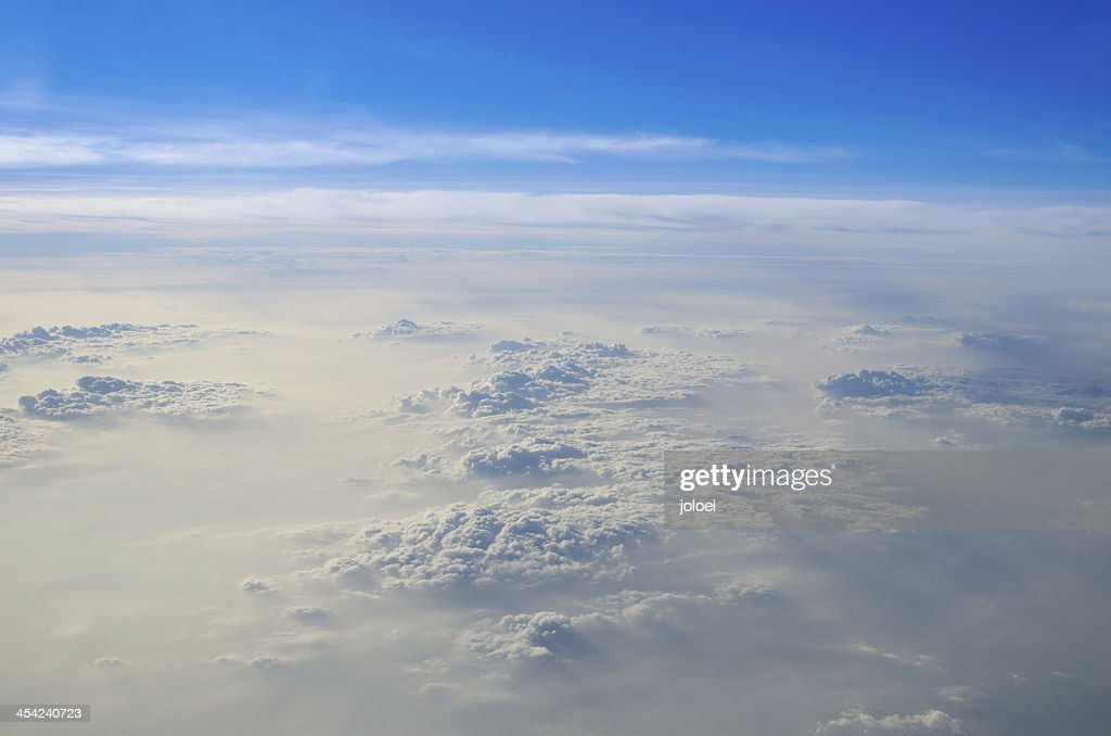 Clouds and blue sky : Stock Photo