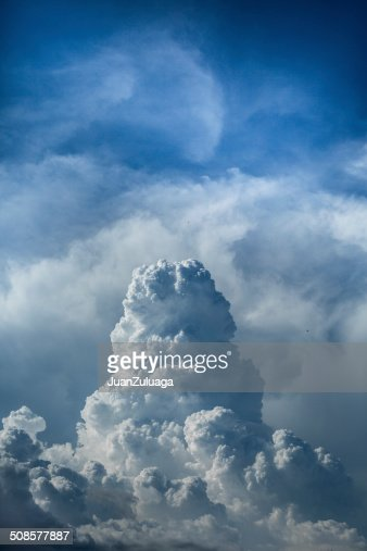 Clouds and blue sky : Stockfoto