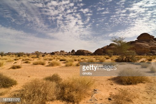 Clouds and Desert