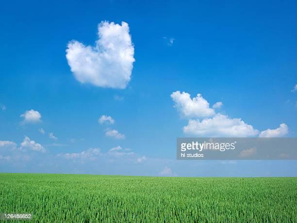 Clouds at sky, Kochelsee, Bavaria, Germany, Europe
