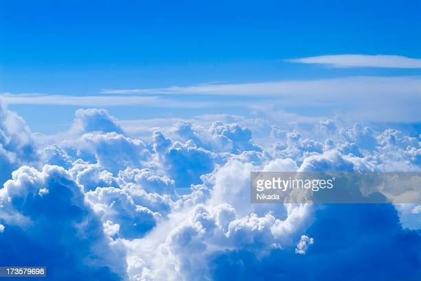 clouds & blue sky