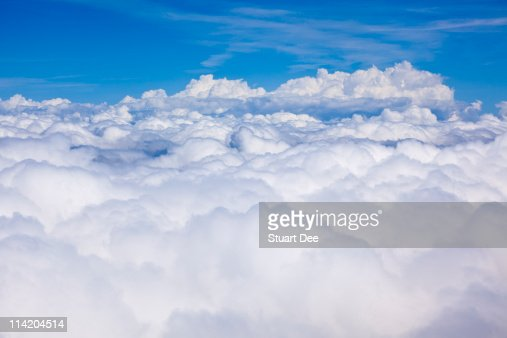 Clouds from  above, 'heaven' : Stock Photo