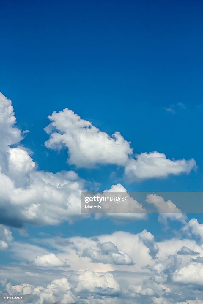 Clouds in the sky : Stock Photo
