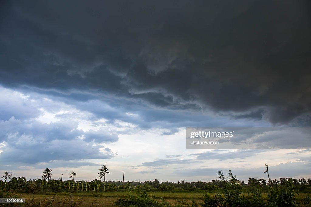 Clouds in the sky was going to rain. : Stock Photo