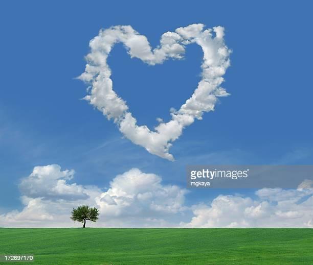 Wolken Liebe 4