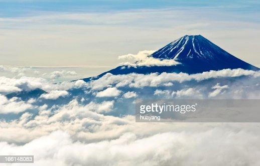 Clouds of Mt. Fuji