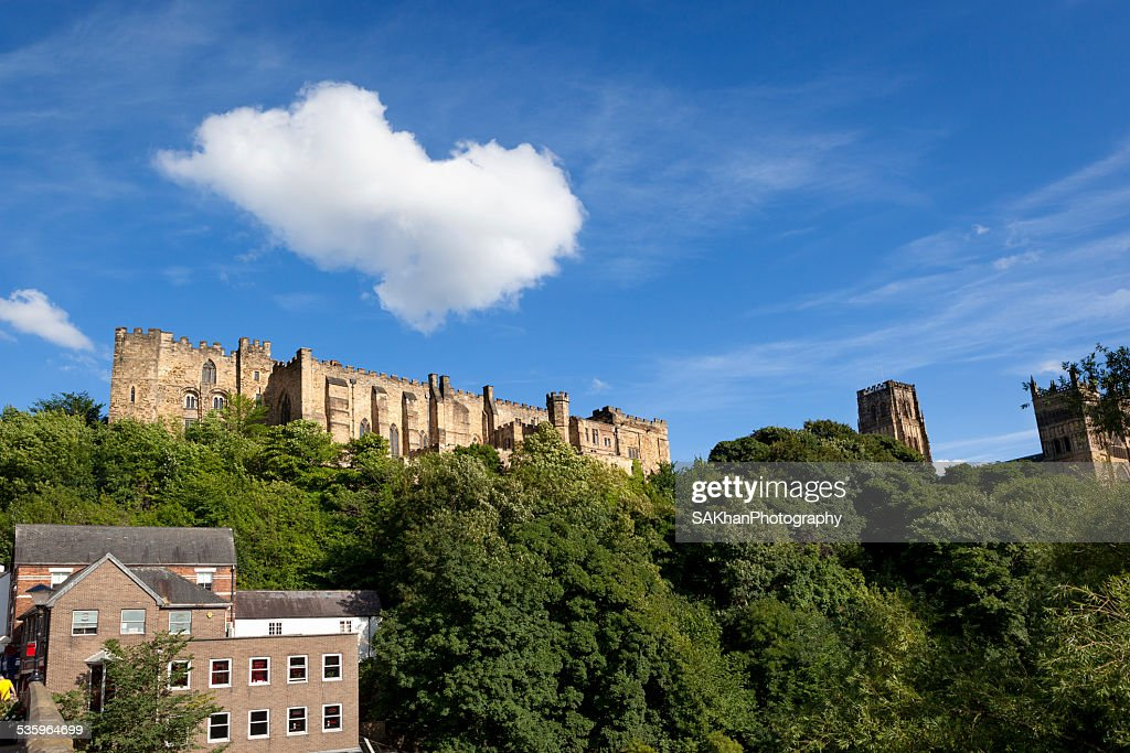 Clouds over Durham Castle : Stock Photo