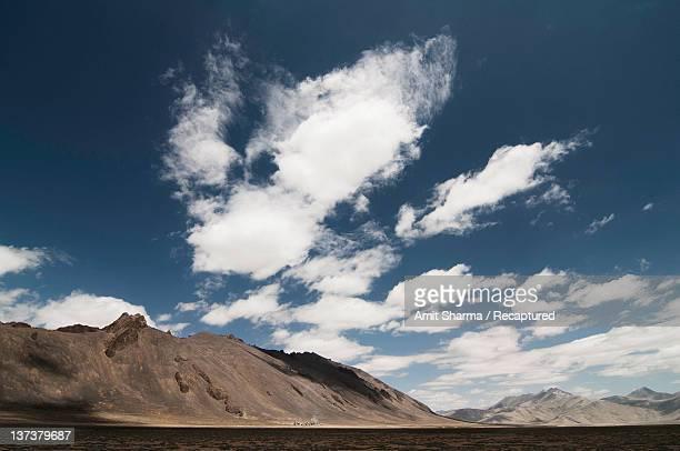 Clouds over Himalayas