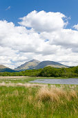 Clouds over mountains, Argyll & Bute, Scotland