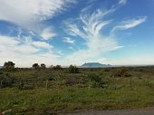 Creative clouds over table mountain