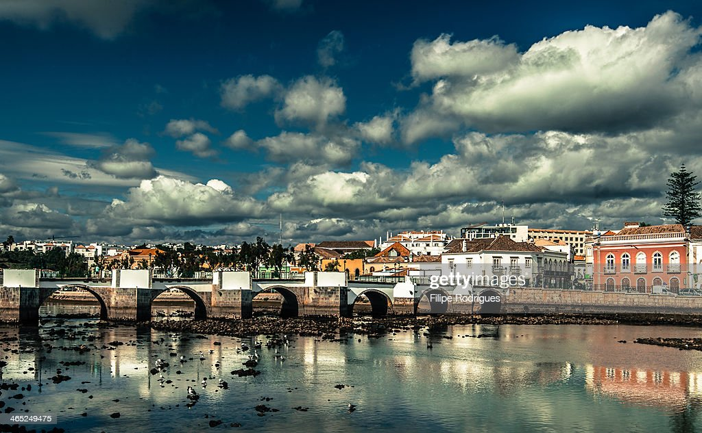 CONTENT] Clouds over Tavira Algarve Low tide