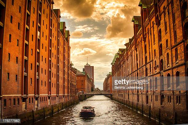 Clouds over the Speicherstadt