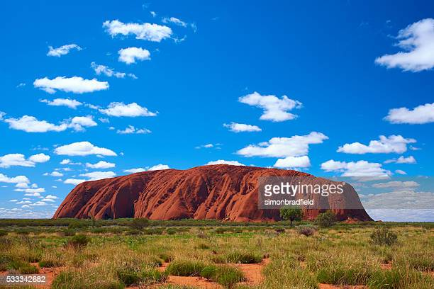 Clouds Over Uluru