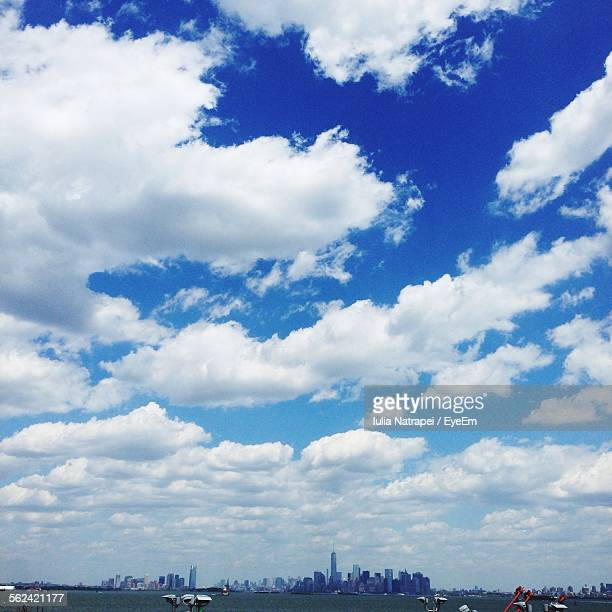 Clouds Over Waterfront Skyline