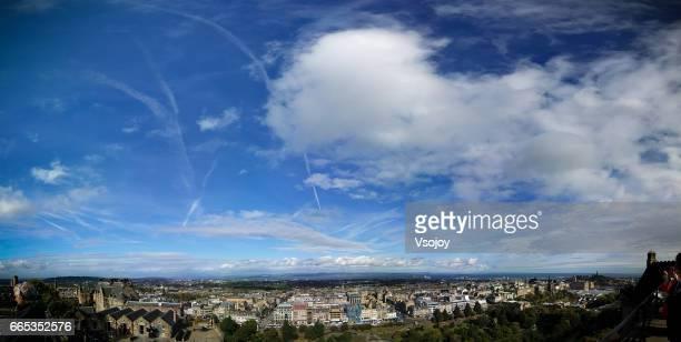 Cloudscape and the city, Edinburgh