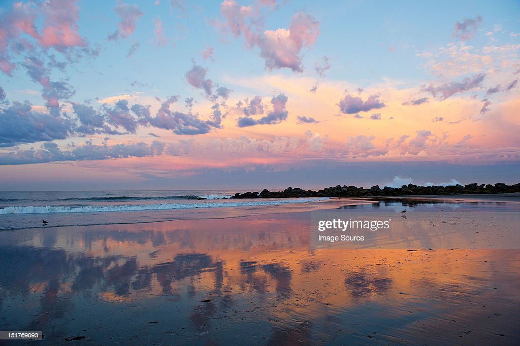 Cloudscape over water : Stock Photo