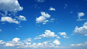 Cloudscape with Blue Sky.