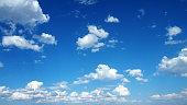 Cloudscape with Blue Sky.