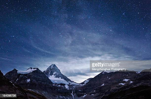 Cloudy Night at Mt. Assiniboine